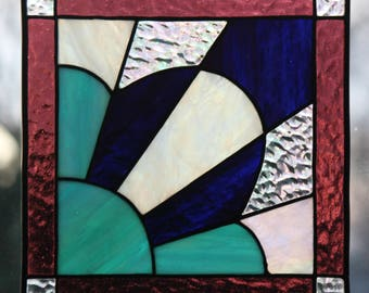 Antique Blossom Stained Glass