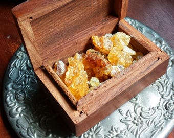 Golden Copal Incense, Witchcraft Supply, Wicca Supplies, Witch, Natural Incense, Smudging, Resin Incense, Incense, Gold Copal, Metaphysical