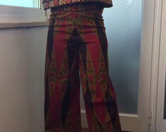 Capulana pants and top