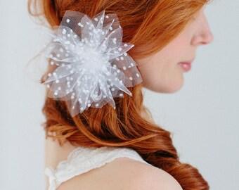"""Bridal  flower headpiece - """"Mila"""""""