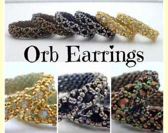 PDF Orb Earrings Tutorial (INSTANT DOWNLOAD)