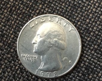 1978-D Washington Quarter