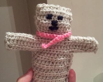 Teddybear hand puppet - crochet