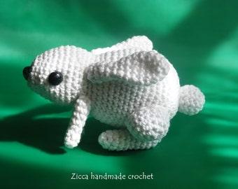 Crochet Amigurumi rabbit, bunny pdf pattern