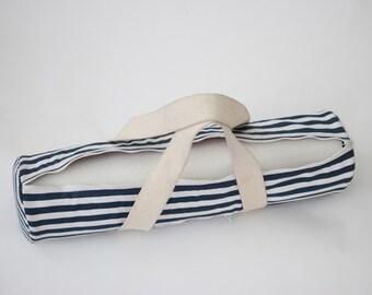 Nautical Print Yoga Mat Bag