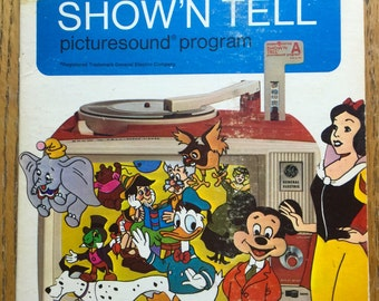 Show' N Tell Record Peter Pan 1965