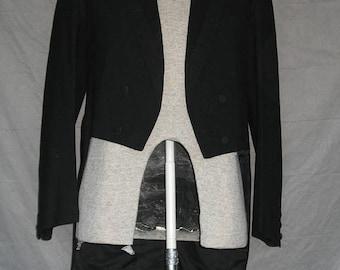 On Sale 1920's Adler Bros Rochester New York Black Wool Men's Tuxedo Jacket