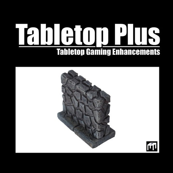 "2"" Walls for Versatile Modular Dungeon (Set of 8)"