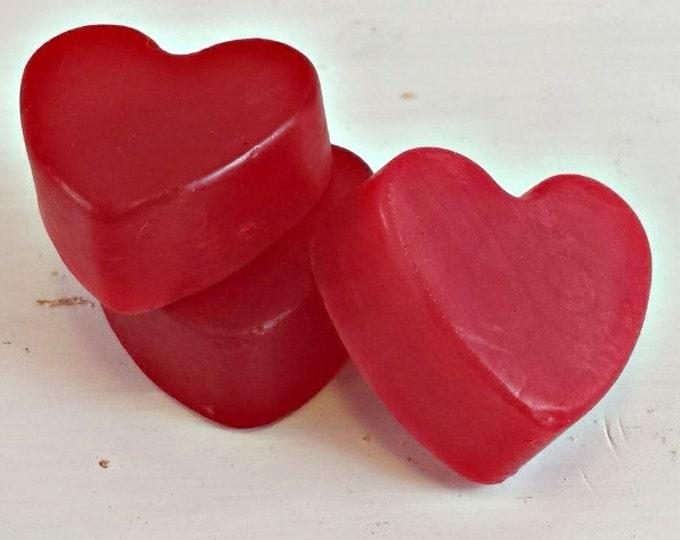 Featured listing image: apple cinnamon soap bars in bulk | soap bars for shower favors | handmade soaps for wedding favors | apple soap favors | soap gift favor