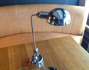 Lamp in chrome metal 70s