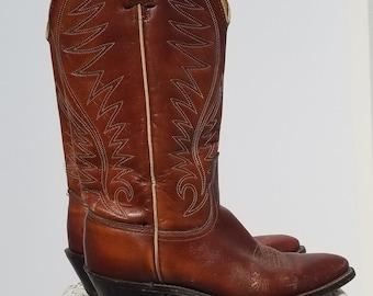 Vintage Acme Women's Cowboy Boots - Size 6