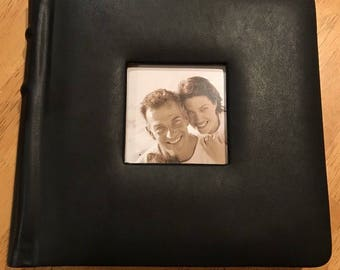 NEW Professional Wedding/Family/Event 24 Photo Album Black 8x8 adhesive pages