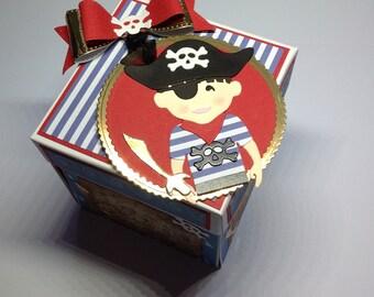 Pirate exploding box