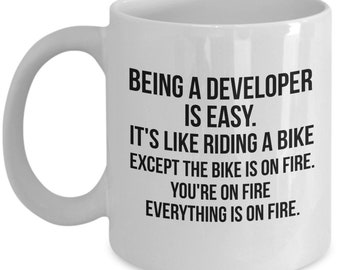Developer Gift, Developer Mug, Gift For Developer, Personalized Developer, Developer, Graduation, Programmer Gift, Programmer Mug, Funny