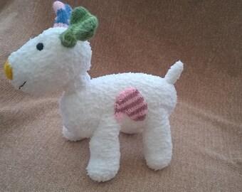 Knitted Snowdog