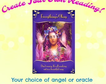 Custom 3 Card Video Reading...Your Choice of Oracle, Crystal, or Angel Deck!