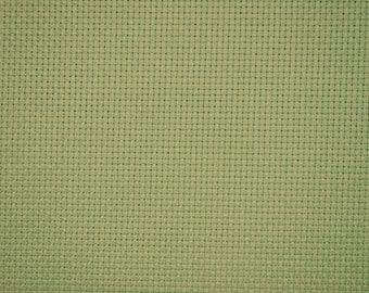 canvas aida 5.5 / cm 80 x 50 cm 86 green Mint light Luc