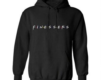 FINESSERS | Black Hoodie