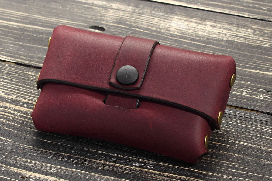 Leather Business Card Holder Business Card Case Leather