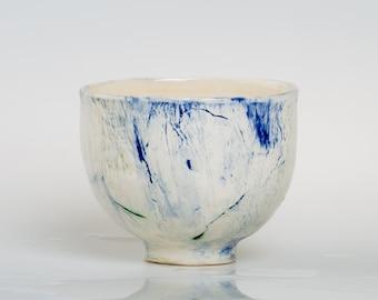 OXYGEN - Porcelain bowl, unique, handmade, OOAK