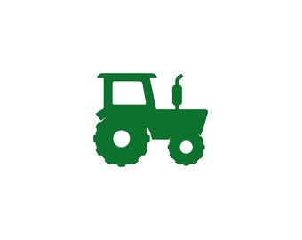 Paper Tractor Cut Outs, Farm Equipment Die Cuts for Boy Birthday Parties, 4H, Fairs, Classroom & Scrapbooking, Party Favors, Decorations