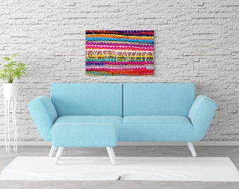Bright Wall Art, Colorful Wall Decor, Colorful Print, Colorful Canvas, Photography Print, Large Canvas, Large Wall Art, Colorful Art