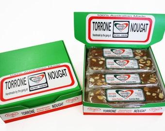 Nougat Box - Chocolatea with Almonds and Hazelnuts