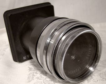 Schneider-Kreuznach Componon 1:5.5/150 Screw Mount Camera Lens with Optika Mount and Filter