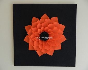 Felt Wall Flower