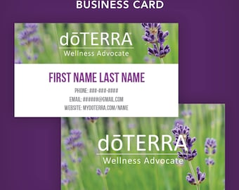 Doterra business card template romeondinez doterra business card template flashek Image collections