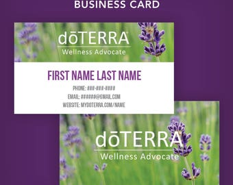 Doterra Cards Etsy - Doterra business card template