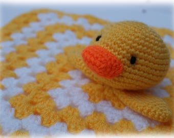Duck Comforter/Lovey Crochet Pattern