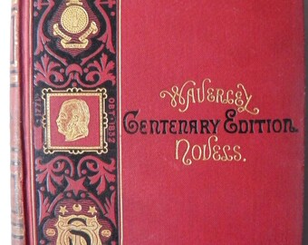 Kenilworth Sir Walter Scott Centenary Edition 1871 Waverley Novels