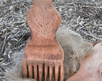 Farm Wife FLAX Combs - OLD as Dirt Primitives from Notforgotten Farm
