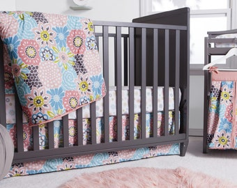 Blooms 5 Piece Baby Bedding Set, Baby Bedding, Nursery
