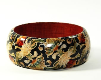 Bangles Paisley Gift wrapping paper upcycling gift for you Decoupage