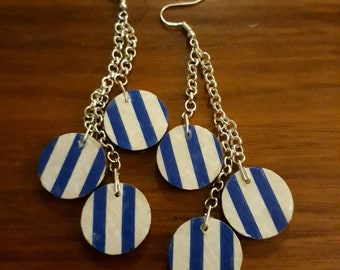 Blue Marianne Earrings
