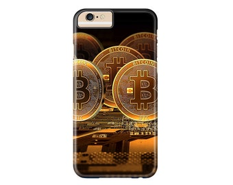 Bitcoin Phone Case | iPhone X, iPhone 8, iPhone 8 Plus, iPhone 7, iPhone 7 Plus, iPhone 6s Plus, iPhone 6, iPhone 5, iPod Touch