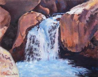 Giclee Print of Waterfall