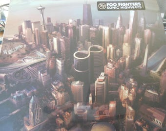 Foo Fighters-Sonic Highways-Chicago cover