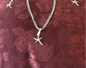STARFISH  JEWELRY  SET   item: 701