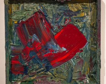 Oil Painting, Abstract Painting, Square