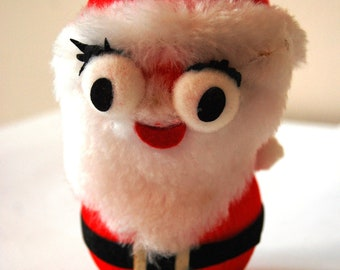 Crazy Vintage Santa Made in Japan