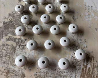Multiple • Vintage White Porcelain Knobs