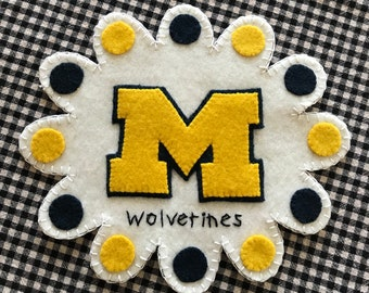 Michigan Wool Penny Rug