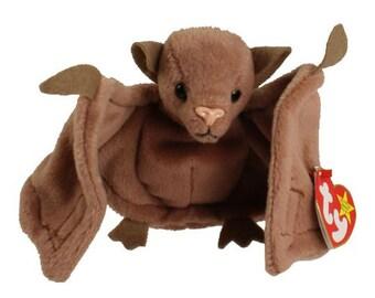 Vintage Beanie Baby: BATTY the Bat/Brown Version 1996 - MINT Condition.