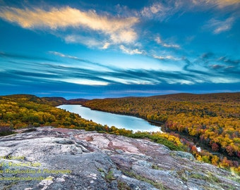 Lake Of The Clouds Porcupine Mountains -0110    Michigan Photography