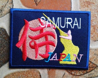 Samurai Japan patch.
