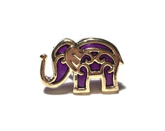 Elephant Ring, Funky Ring, Bollywood Elephant Ring, Gift, Under 5 dollars, Adjustable Ring, Spring Jewelry, Gift for her, Summer, Purple