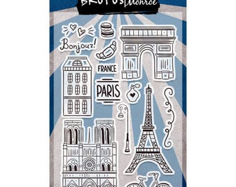 Brutus Monroe - From Paris With Love Stamp